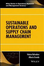 Sustainable Operations and Supply Chain Management PDF