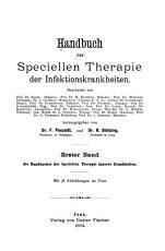 Handbuch der speciellen Therapie innerer Krankheiten in sechs B  nden PDF
