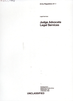 Judge Advocate PDF
