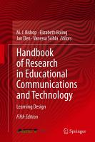Handbook of Research in Educational Communications and Technology PDF