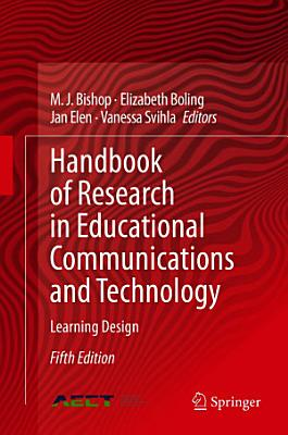 Handbook of Research in Educational Communications and Technology