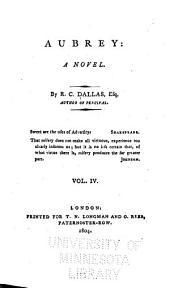 Aubrey: A Novel, Volume 4