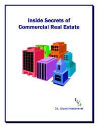 Inside Secrets Of Commercial Real Estate Book PDF