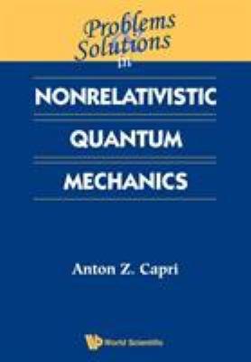 Problems   Solutions in Nonrelativistic Quantum Mechanics PDF