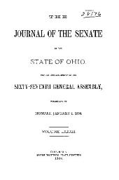 Journal of the Senate of the ... General Assembly of the State of Ohio ...: Volume 82