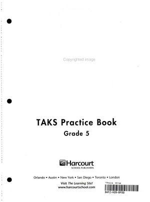 Health   Fitness Be Active  Grade 5 TAKS Practice Book PDF