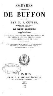 Œuvres complètes de Buffon: Volume12