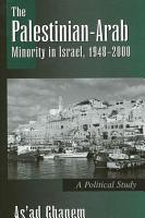 Palestinian Arab Minority in Israel  1948 2000  The PDF