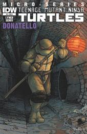 Teenage Mutant Ninja Turtles Microseries #3: Donatello