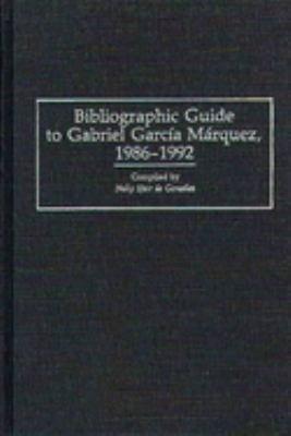 Bibliographic Guide to Gabriel García Márquez, 1986-1992