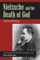 Nietzsche and the Death of God PDF