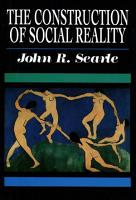 The Construction of Social Reality PDF