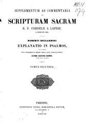 Commentaria in Scripturam Sacram R. P. Cornelii a Lapide ...