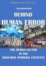 Considerations Behind Human Error
