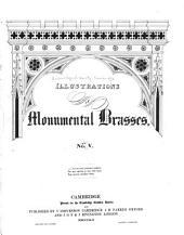 Illustrations of Monumental Brasses ...