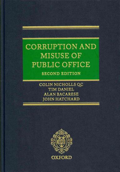 Corruption and Misuse of Public Office PDF