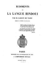 Rudiments de la langue hindoui