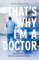 That   s Why I   m a Doctor PDF