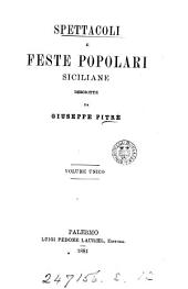 Biblioteca delle tradizioni popolari siciliane, per cura di G. Pitrè: Volume 12
