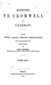 Histoire de Cromwell: Volume 1