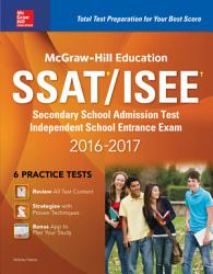 Mcgraw Hill Education Ssat Isee 2016 2017 Book PDF