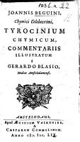 Tyrocinium chymicum e natur   fonte et manuali experientia depromptum     Hac secunda editione ab ipsomet autore quam diligentissime recognitum auctum PDF