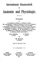 Internationale Monatsschrift für Anatomie und Physiologie: Volume 7