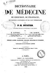 Dictionnaire de médecine, de chirurgie, de pharmacie, des sciencies accessoires et de l'art vétérinaire