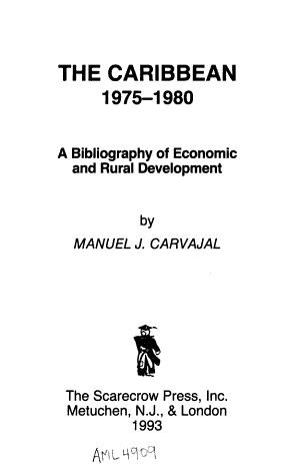 The Caribbean  1975 1980 PDF