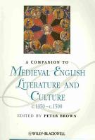 A Companion To Medieval English Literature and Culture C 1350   C 1500 PDF