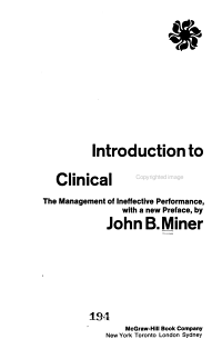 Introduction to Industrial Clinical Psychology PDF