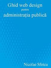 Ghid web design pentru administratia publică