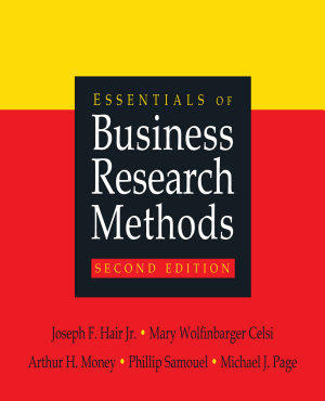 Essentials of Business Research Methods PDF
