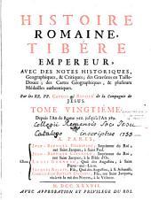 Histoire romaine depuis la fondation de Rome [jusqu'a l'an 47 de J.-C.], avec des notes historiques, géographiques et critiques...par les RR. PP. Catrou et Rouillé de S. J. T. 01-20 (histoire romaine par Bernard Rothe, [sic pour Routh] T. 21)