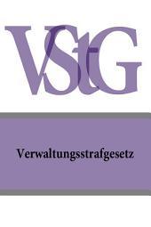 Verwaltungsstrafgesetz - VStG