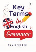 KEY TERMS IN ENGLISH GRAMMAR PDF