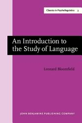 An Introduction To The Study Of Language Book PDF