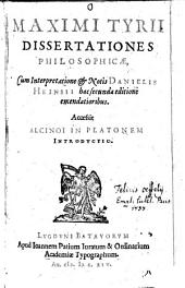 Dissertationes philosophicae