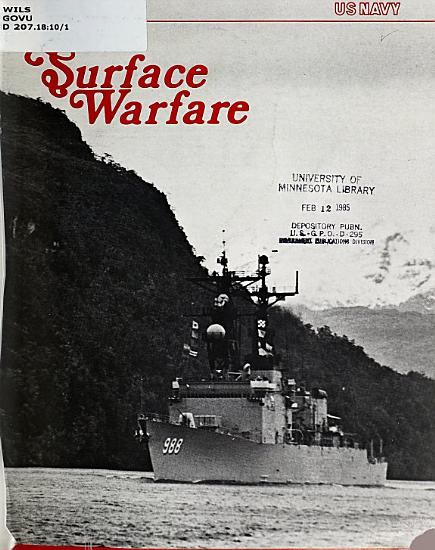 Surface Warfare PDF