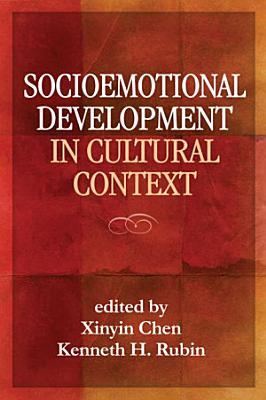 Socioemotional Development in Cultural Context