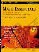 Math Essentials  High School Level