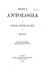 Nuova antologia: Volume 110