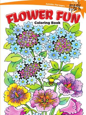 SPARK Flower Fun Coloring Book