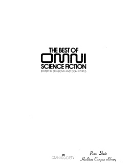 The Best of Omni Science Fiction PDF