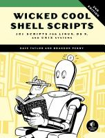 Wicked Cool Shell Scripts  2nd Edition PDF