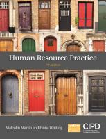 Human Resource Practice PDF