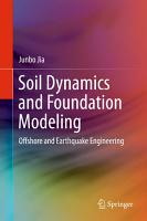 Soil Dynamics and Foundation Modeling PDF