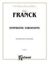 Symphonic Variations: Piano Duo/Duet (2 Pianos, 4 Hands)