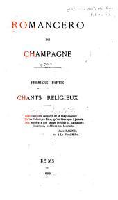 Collection des poètes de Champagne antérieurs au XVIe siècle: Romancero de Champagne