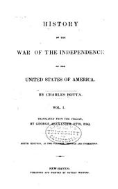 History of the War of Independence of the United States of America: Volume 1